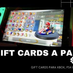Gift Cards a partir de $1,80 | Que Incrível