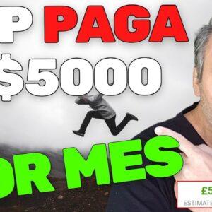 APP PAGA $5000 POR MES PRA VOCE FAZER COISAS FACEIS | GANHAR DINHEIRO NO YOUTUBE
