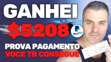 COMO GANHAR $5208 NA INTERNET SEM FAZER NADA | GANHAR DINHEIRO NO YOUTUBE