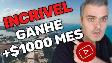 Como Ganhar $1000 por mês com o tiktok no YouTube  | Dinheiro no Youtube