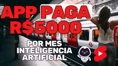 APP PAGA R$5000 POR MES NO YOUTUBE COM INTELIGENCIA ARTIFICIAL   CANAL DARK