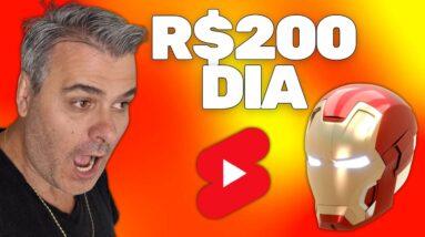 COPIE E COLE VIDEOS E GANHE R$200 DIA YOUTUBE SHORTS E DROPSHIPPING | VENDEDOR GLOBAL