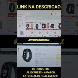 06 PRODUTOS VENCEDORES PRA DROPSHIPPING DO ALIEXPRESS NA AMAZON #shorts