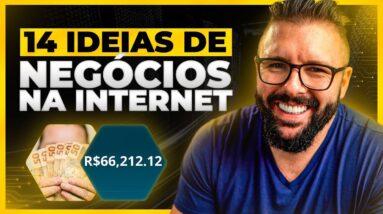 14 IDEIAS DE NEGÓCIOS ALTAMENTE RENTAVEIS PRA FAZER NA INTERNET