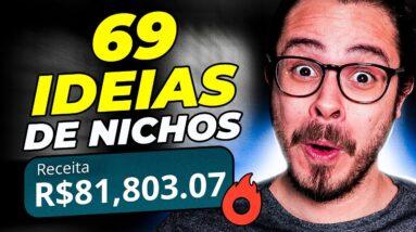 69 ideias de Nichos LUCRATIVOS p/ ganhar dinheiro na internet (+PDF Grátis)