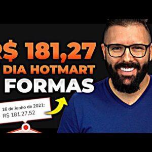 Dinheiro Hotmart | 7 formas p/ ganhar dinheiro sendo afiliado Hotmart