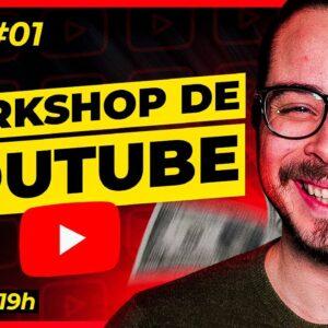 Como Ganhar Dinheiro no YouTube com canais pequenos - Aula 1 (05/07 às 19h)