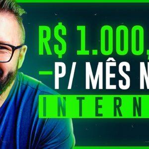 3 FORMAR DE GANHAR 1000 REAIS POR MÊS NA INTERNET EM CASA EM 2021