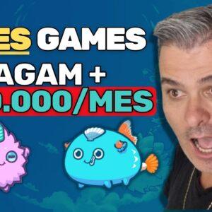 Como Pessoas estão Ganhando mais de R$10.000 mês por jogando vídeo game | Vendedor Global