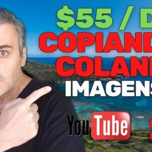 COPIE E COLE IMAGENS E GANHE $55 POR DIA COM O YOUTUBE SHORTS | VENDEDOR GLOBAL
