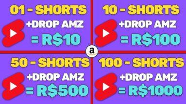 COPIE E COLE VIDEOS E GANHE R$100 DIA NO YOUTUBE SHORTS ALIEXPRESS AMAZON BRASIL | VENDEDOR GLOBAL