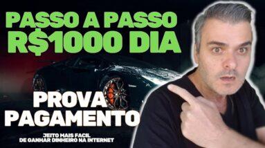 COMO GANHAR R$1000 POR DIA NA INTERNET EM 2021 | PROVA DE PAGAMENTO | VENDEDOR GLOBAL