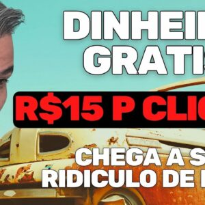 COMO PESSOAS COMUNS ESTAO GANHANDO R$15 POR CLIQUE EM 2021 MUITO FACIL
