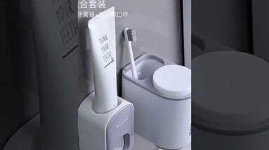 Dispenser de pasta de dente! #shorts