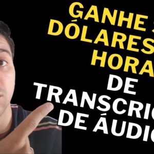 Ganhe $25 dólares por hora de transcrição de áudio | Scribe | Que Incrível!