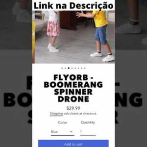 Incrível brinquedo flyorb! #shorts