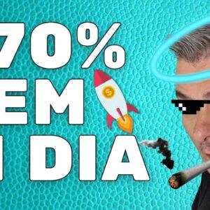 ESSAS MOEDAS SUBIRAM +70% EM UM DIA | VENDEDOR GLOBAL